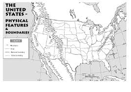us physical map worksheet