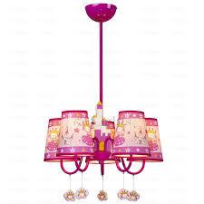 Chandelier Light For Girls Room Romantic Hanging 5 Light Chandelier For Girls Room