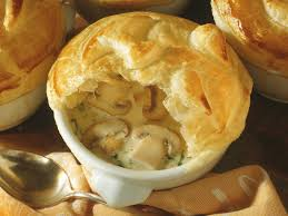mushroom soup with puff pastry crust recipe eat smarter usa