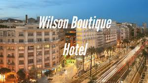 wilson boutique hotel in barcelona spain youtube