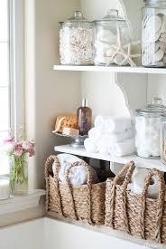 Pinterest Bathroom Shelves Beautiful Decorating Ideas For Bathroom Shelves Contemporary