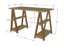 Free Plans To Build A Computer Desk by Best 20 Build A Desk Ideas On Pinterest Cheap Office Desks