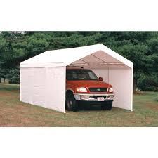 Tarp Canopy Kits by Shelterlogic Max Ap Sidewalls U0026 Doors Canopy Enclosure Kit 10 U0027 X