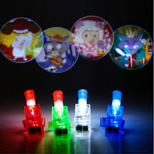 glow party supplies led finger lights glowing dazzle laser emitting l beam