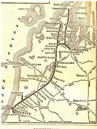 Michigan Railroad Map by 2011 Club Cars Northern Michigan Railroad Club