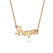 Kids Names Necklace Love Hope Message Layered Necklace Set Rose Gold Plated Silver
