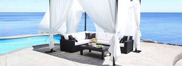 Milano Patio Furniture by Milano Outdoor Cabana Sunguard Awnings U0026 Patio Furniture