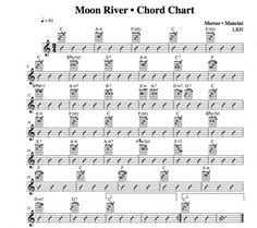 wedding dress chord moon river guitar score p1 from breakfast at s one of