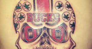 Ohio State Tattoos - breathing brutus jim tressel and meyer area has