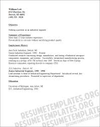 resume format for boeing industrial engineer resume new section image result for junior