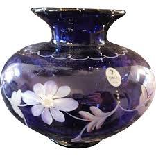 fenton 1998 designer frances burton royal purple on colonial