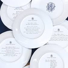 monogrammed dishes custom dinnerware china for tablescape wedding registry