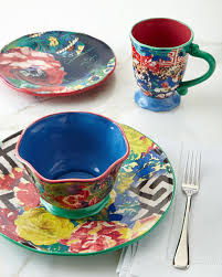 Poetic Wanderlust Bedding Poetic Wanderlust 16 Piece Reverie Dinnerware Service