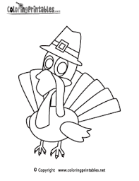 free printable thanksgiving coloring pages symbols