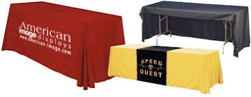 Trade Show Table Runner Benefits Of A Personalized Trade Show Table Cover American Image