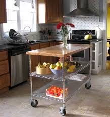 Rolling Island For Kitchen Diy Pallet Storage Cart On Wheels Crafthubs Rolling Kitchen