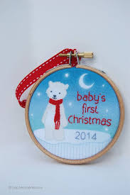 Baby S First Christmas Bauble 2014 by 33 Best Baby First Christmas Ornament 2014 Images On Pinterest