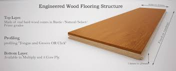 what is engineered wood flooring made of wood and beyond