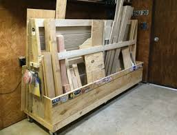 Wood Storage Rack Plans by Diy Rolling Lumber Rack Wilker Do U0027s