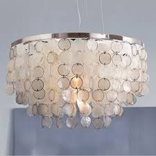 Seashell Light Fixture Find More Pendant Lights Information About Modern White Capiz