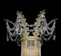 Neoclassical Chandeliers Set Of Four Neoclassical Chandeliers By Maison Baguès French