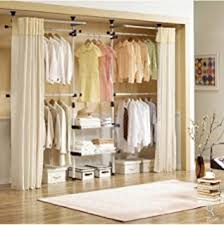 Closet Hanger Organizers - amazon com deluxe pants u0026 shelf hanger clothing rack closet