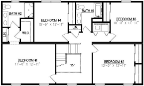 lexington 2530 square foot two story floor plan