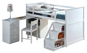 kids bed with desk sleep study loft bed with long desk site has