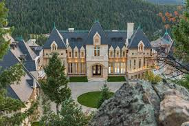 colorado house plans mountain chateau mansion evergreen colorado luxury homes