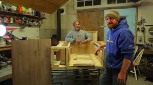 Pallet Kitchen Island by Building A Kitchen Island With Pallet Lumber Youtube