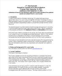 technology proposal template information technology business