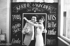 Conhecido Quadro negro inova em decoração de casamento | Silvia Fregonese &SH74