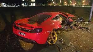 police mclaren 27 year old trashes s 750k mclaren sports car in yishun the