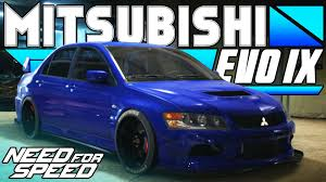 ricer lancer need for speed 2015 mitsubishi lancer evolution ix mr car