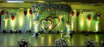 Wedding Stage Decoration in Neyveli – Block 24 munity Hall