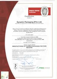 bureau veritas pakistan fssc dynamic packaging pakistan