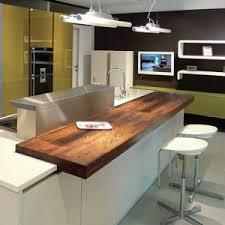 cuisine plan travail bois cuisine plan de travail bois massif sur mesure épaisflip design bois