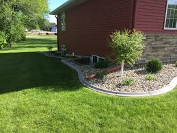 concrete landscape curbing decorative boarders mn