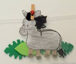 Palm Sunday Crafts For Kids - donkey for preschoolers patterns patterns kid