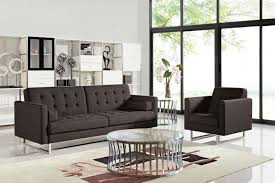 Modern Furniture Los Angeles Ca Opus Brown Fabric Sofa Bed Steal A Sofa Furniture Outlet Los
