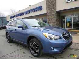 blue subaru crosstrek 2015 subaru xv crosstrek 2 0i limited in quartz blue pearl