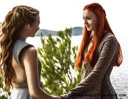two beautiful ladies sansa and margaery by sezengurakar on