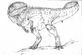 t rex coloring pages dinosaurs coloringstar