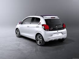 peugeot cars 2015 peugeot 108 2014 2015 in white blanc weiss wit compact city