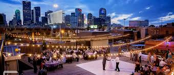 small wedding venues houston wedding at the grove houston downtown treehouse deck this is
