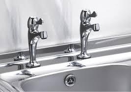 Kitchen Taps Pillar  Mixer Taps DIY At BQ - Kitchen sink pillar taps