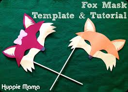 Halloween Printable Masks Templates by Pinterest Masquerade Printable Fox Mask Template Mask Template