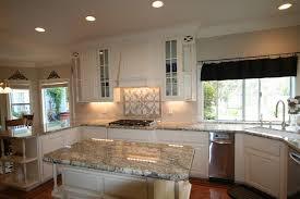 White Cabinets Granite Countertops by African Rainbow Granite Houzz