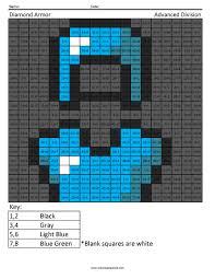 diamond armor basic division coloring squared