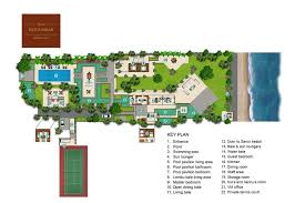 floorplan batujimbar u2013 sanur 8 bedroom beachfront villa bali